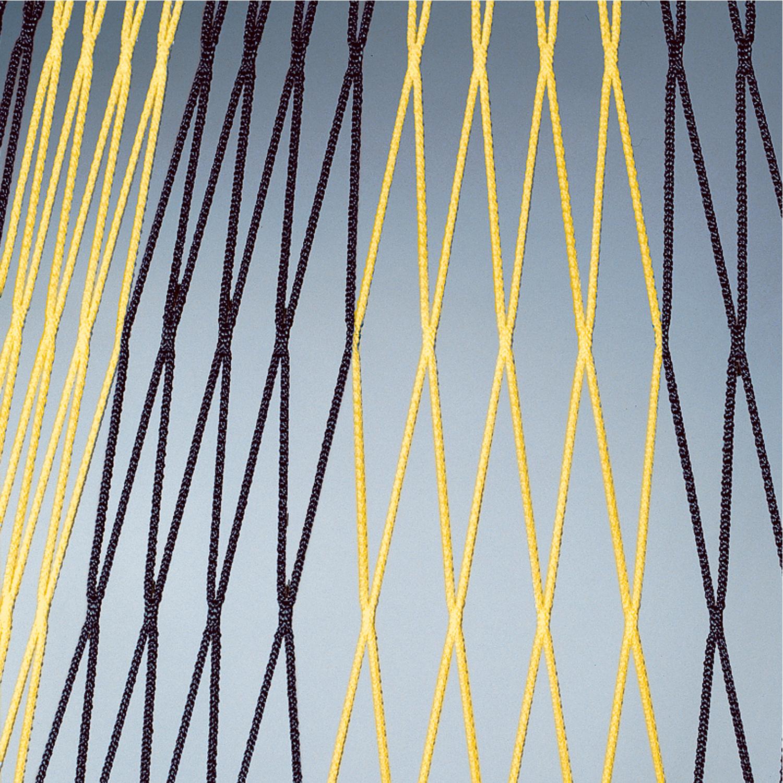 Jgd.Tornetz 100/100, 4 mm, zweifarbig