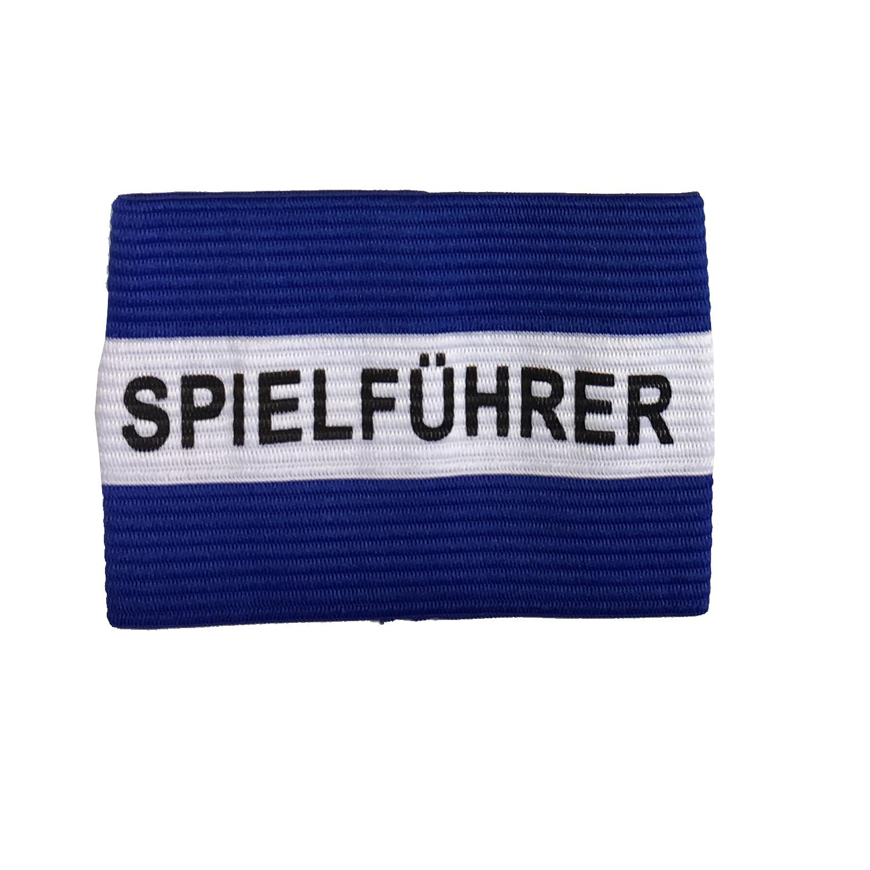 Kapitänsschleife blau/weiß