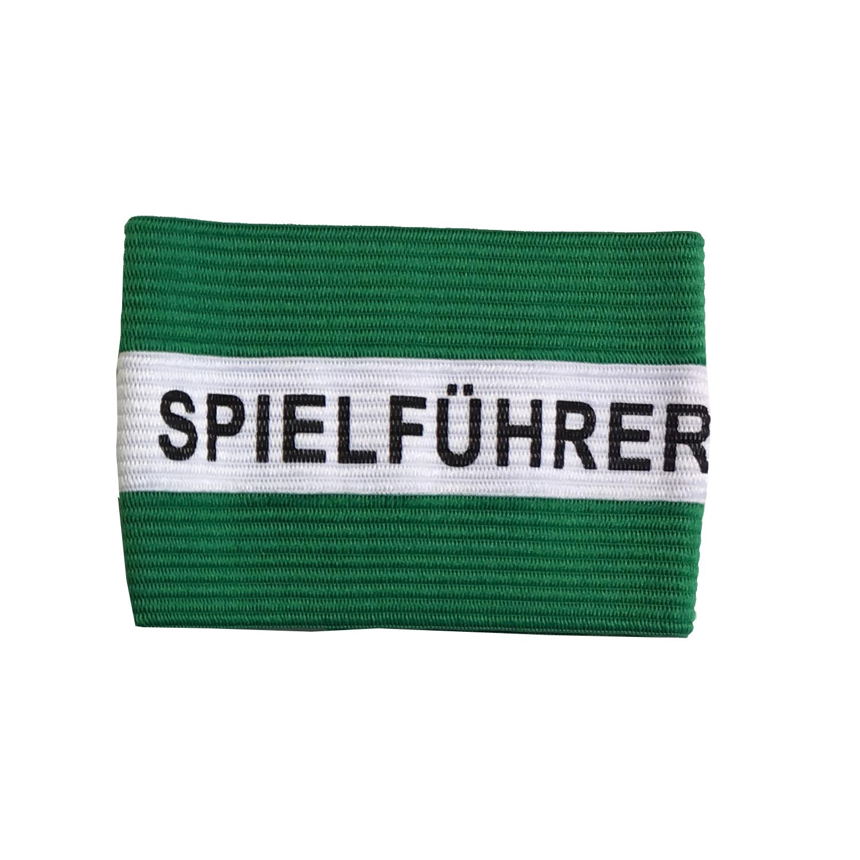 Kapitänsschleife grün/weiß
