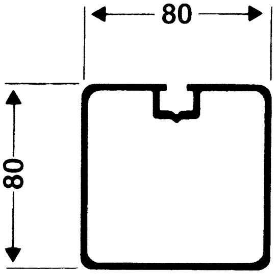 Bolzplatztor 3 x 2 m