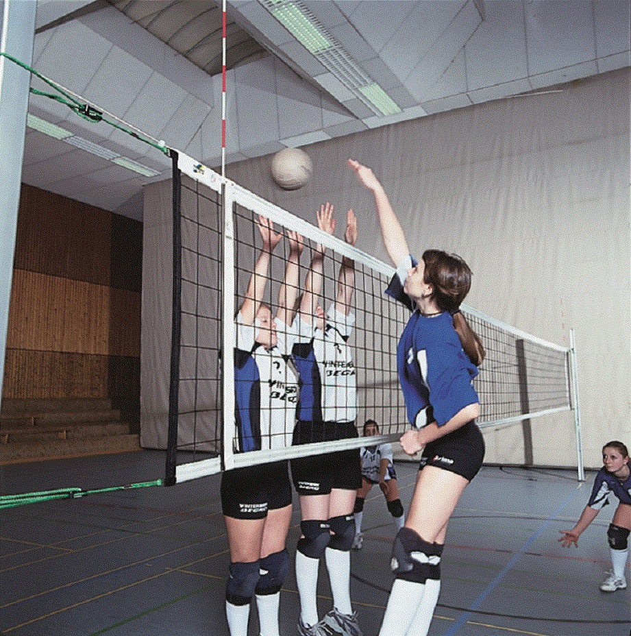 Volleyball-Turniernetz, 3 mm