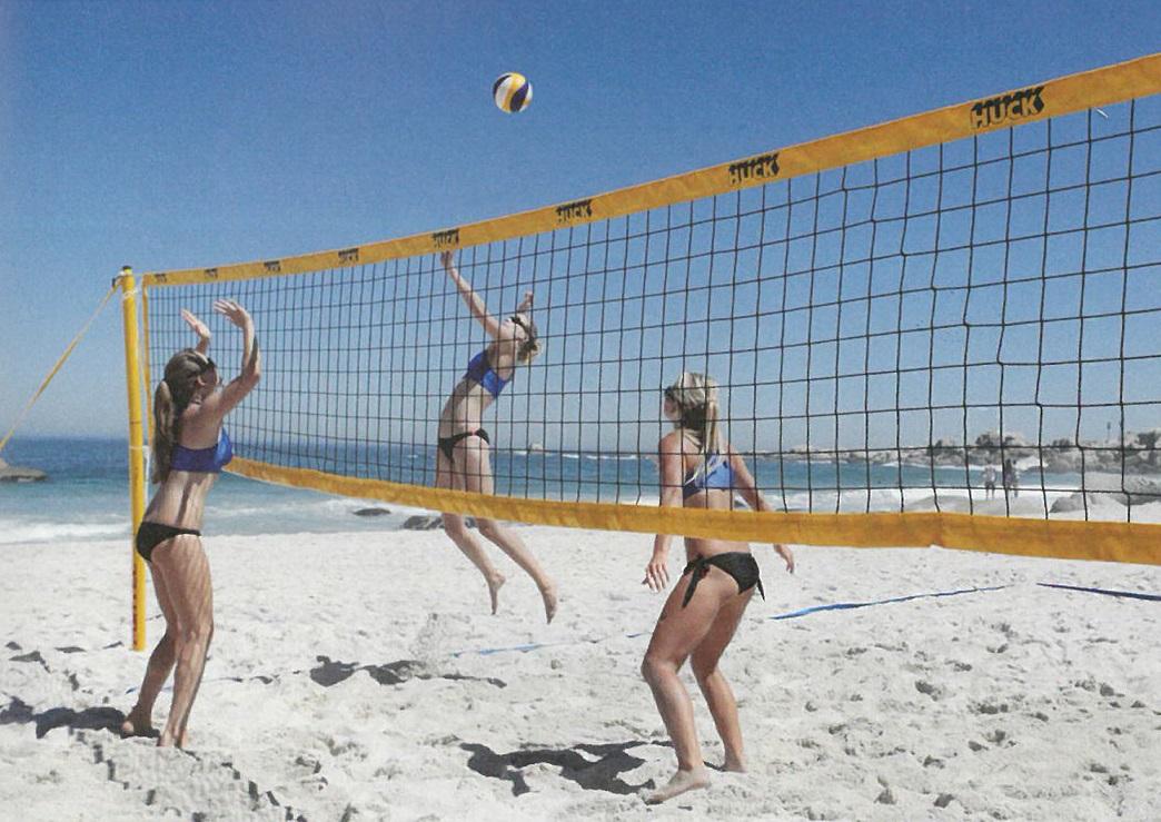 """Beach-VB-Turniernetz""""Huck"""""""