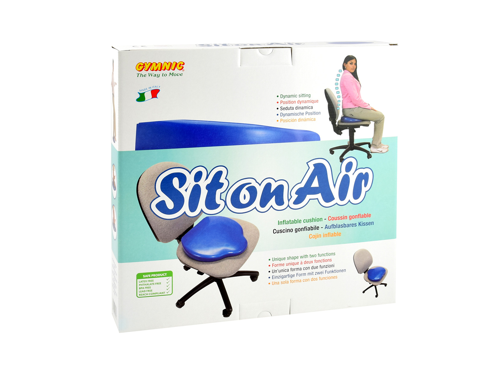 "Keil-Sitzkissen ""Sit on Air"""