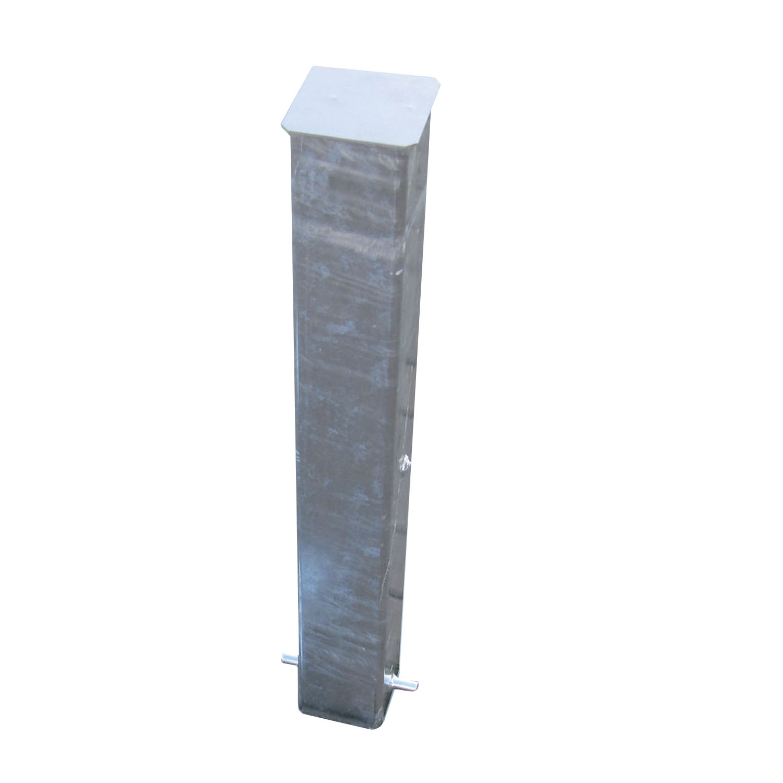 Bodenhülse 80x80 mm, extra lang