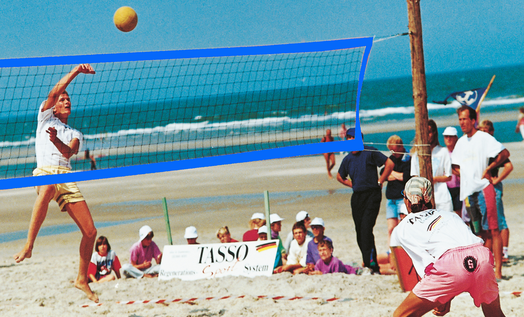 Beach-VB-Trainingsnetz